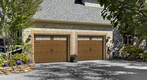 Double Garage Door, Residential Installation