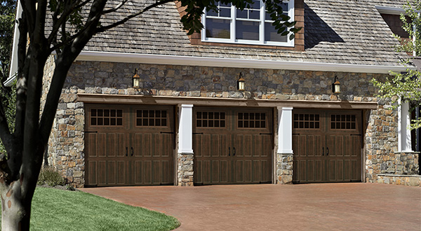 Three Garage Doors, Residential, Installation