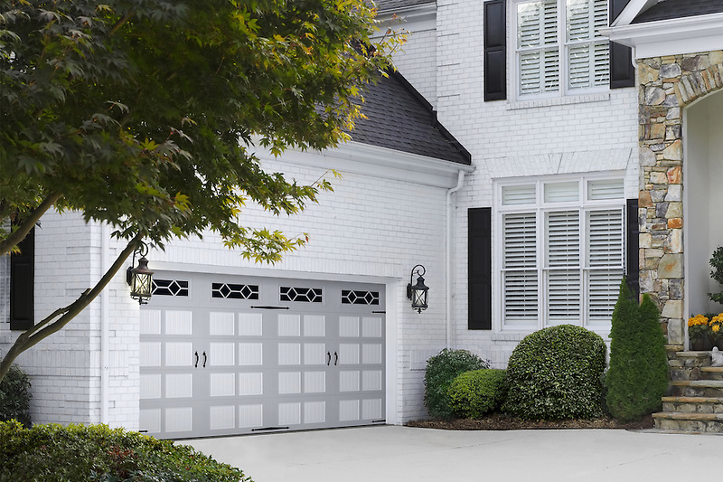 Grey Garage Doors, Residential